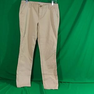Old Navy the diva khaki pants sz 8R